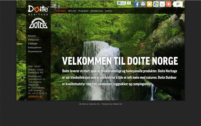 Webløsning for Doite