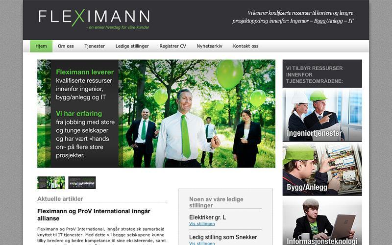 Redesign og videreutvikling av webside