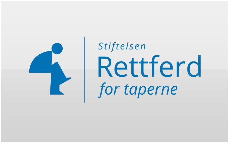 Stiftelsen Rettferd for Taperne - logo redesign
