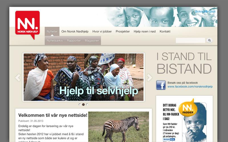 Ny webløsning med publiseringsverktøy