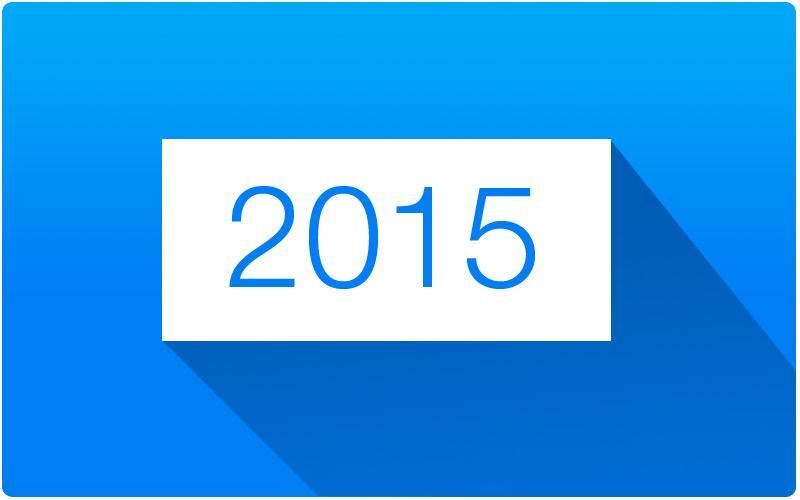 Webtrender for 2015