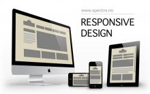 Responsive design - illustrasjon: spectra.no